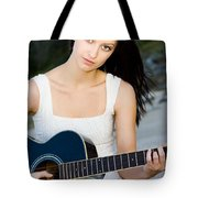 Music Girl Tote Bag