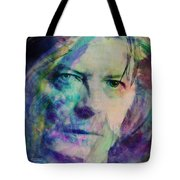 Music Icons - David Bowie Ill Tote Bag