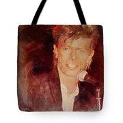Music Icons - David Bowie Iv Tote Bag