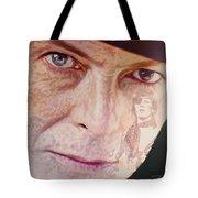 Music Icons - David Bowie Vll Tote Bag