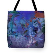 Music Icons - Frank Sinatra Iv Tote Bag