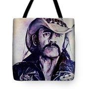 Music Icons - Lemmy Kilmister Iv Tote Bag