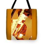 Music Is Joyful Noise Tote Bag