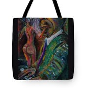 Music Lover And A Fine Cigar Tote Bag