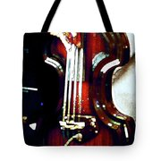 Music Man Bass Violin Tote Bag