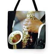 Music Man Saxophone 1 Tote Bag
