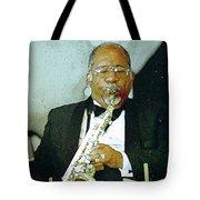 Music Man Saxophone 2 Tote Bag