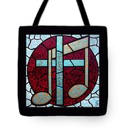 Music Of The Cross Tote Bag