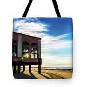 Music Pier Flare Tote Bag