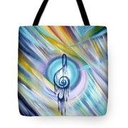 Music Reflexion Tote Bag