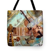Music Shop Tote Bag