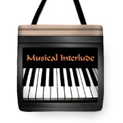 Musical Interlude Tote Bag
