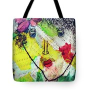 Musical Lady Tote Bag