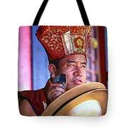 Musical Monk Tote Bag