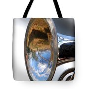Musical Reflection Tote Bag