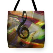 Musical Waves Tote Bag