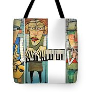 Musician Trio Tote Bag