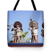 Musicians At The Hotel California Todos Santos Mx Tote Bag