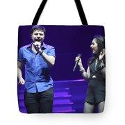 Musicians Michael And Marisa Tote Bag