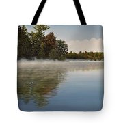 Muskoka Morning Mist Tote Bag