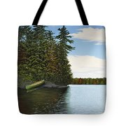 Muskoka Shores Tote Bag