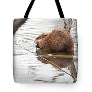 Muskrat Spring Meal Tote Bag