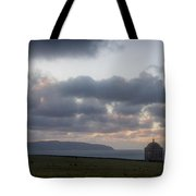 Musseden Temple Sunset Tote Bag