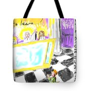 Must I Stay? Tote Bag