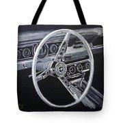 Mustang Dash Tote Bag