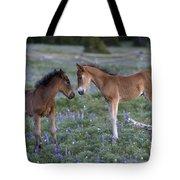Mustang Foals Tote Bag
