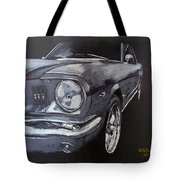 Mustang Front Tote Bag