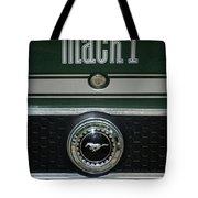 Mustang Mach 1 Emblem Tote Bag