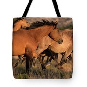 Mustang Run Tote Bag