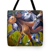 Mustang Spirit Tote Bag