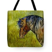 Mustang Stallion Tote Bag