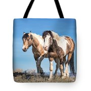 Mustang Twin Stallions Tote Bag