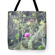 Mustard And Thistle Tote Bag