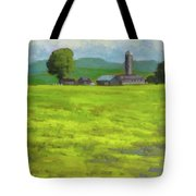 Mustard Fields Indiana Tote Bag