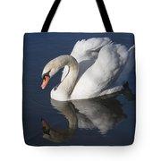 Mute Swan Reflected Tote Bag