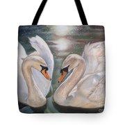 Mute Swans - River Severn Tote Bag
