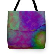 Muted Cool Tone Abstract Tote Bag