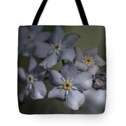 Muted Forget Me Not  Tote Bag