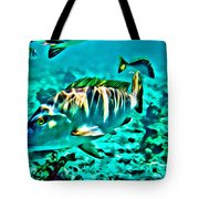 Mutton Snapper Tote Bag