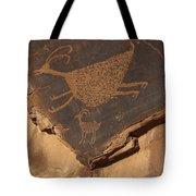 Mv Petroglyph 7364 Tote Bag