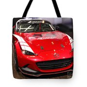 Mx5 Race Car Tote Bag