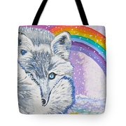 My Artic Fox Tote Bag