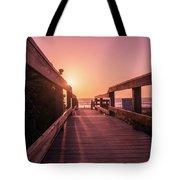 My Atlantic Dream -the Boardwalk  Tote Bag