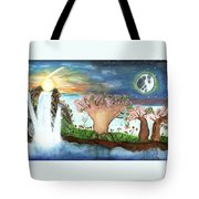 My Beloved And Me Tote Bag