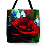 My Birthday Rose Tote Bag