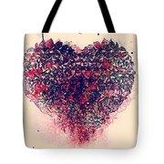 My Bleeding Heart  Tote Bag